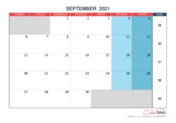 September 2021